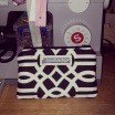 14.11.19 Black and White Art Deco Bag