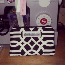 14.11.19 Black and White Art Deco Bag